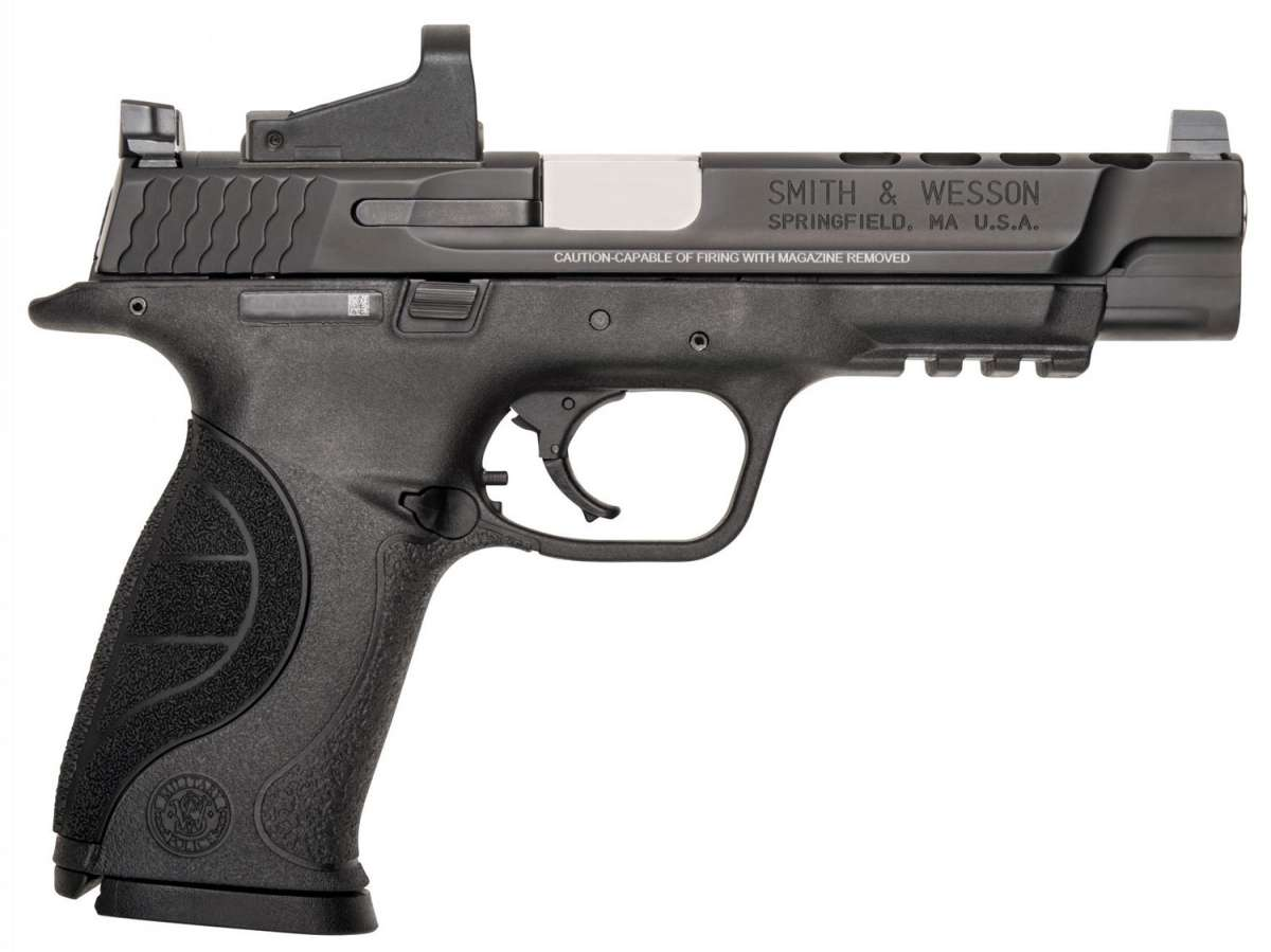 Smith & Wesson 11997 M&P 9 Ported with Red Dot Double 9mm Luger 5